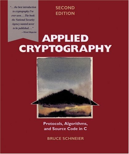 Applied Cryptography 2nd Ed