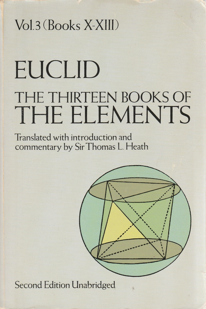 Thirteen Books of The Elements Vol.3, The