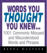 Words you though you knew...