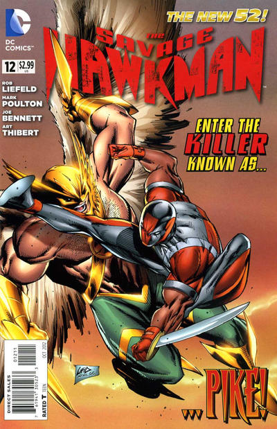The Savage Hawkman issue 12.00