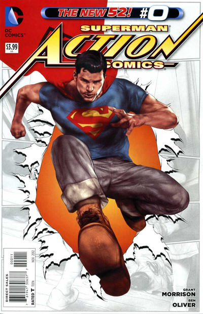 Action Comics issue 0.00