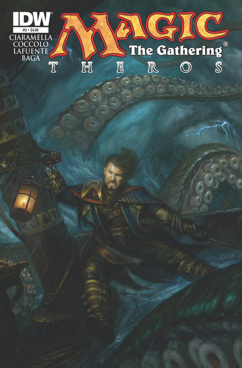 Magic: The Gathering--Theros issue 3.00