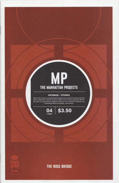 The Manhattan Projects issue 4.00