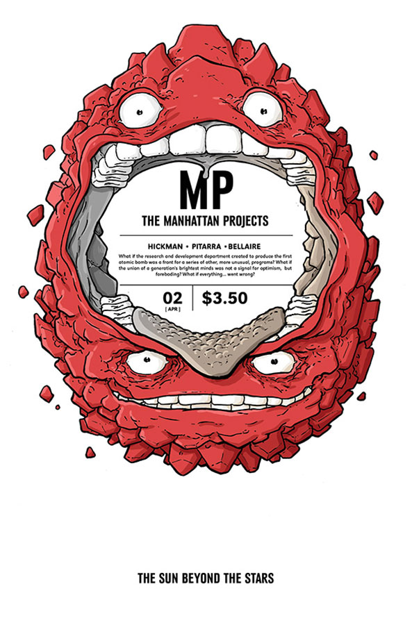 The Manhattan Projects: The Sun Beyond the Stars issue 2.00
