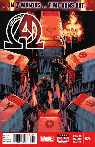 New Avengers issue 25.00
