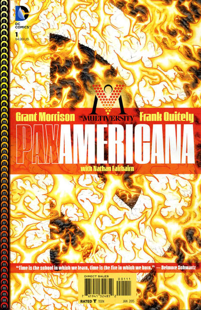 The Multiversity: Pax Americana issue 1.00