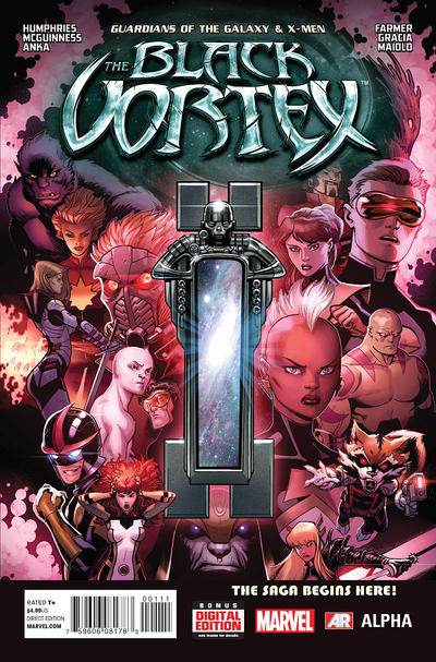 Guardians of the Galaxy & X-Men: The Black Vortex Alpha issue 1.00