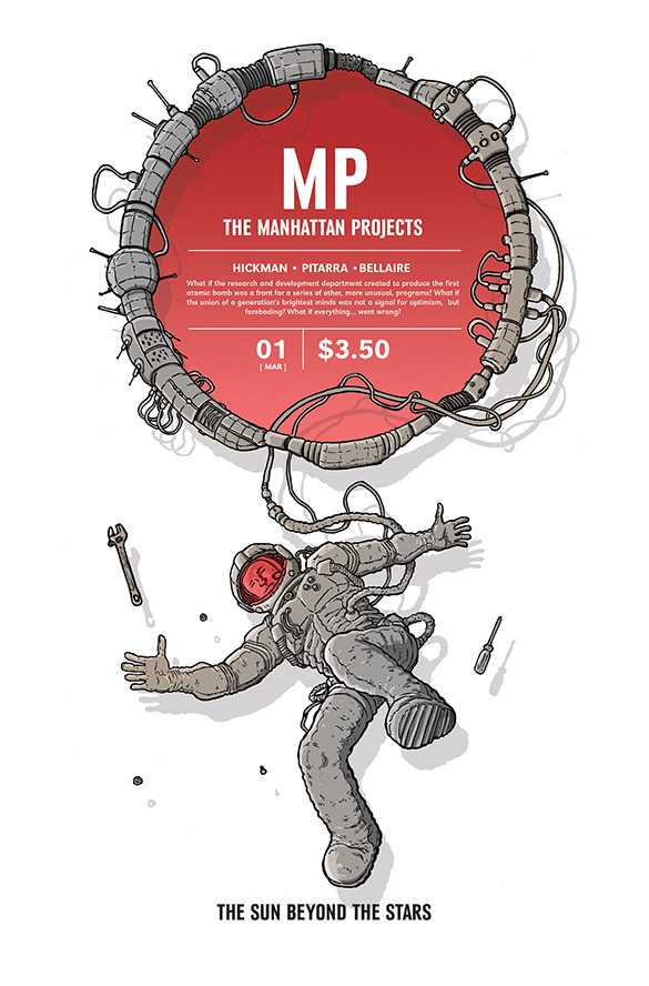 The Manhattan Projects: The Sun Beyond the Stars issue 1.00