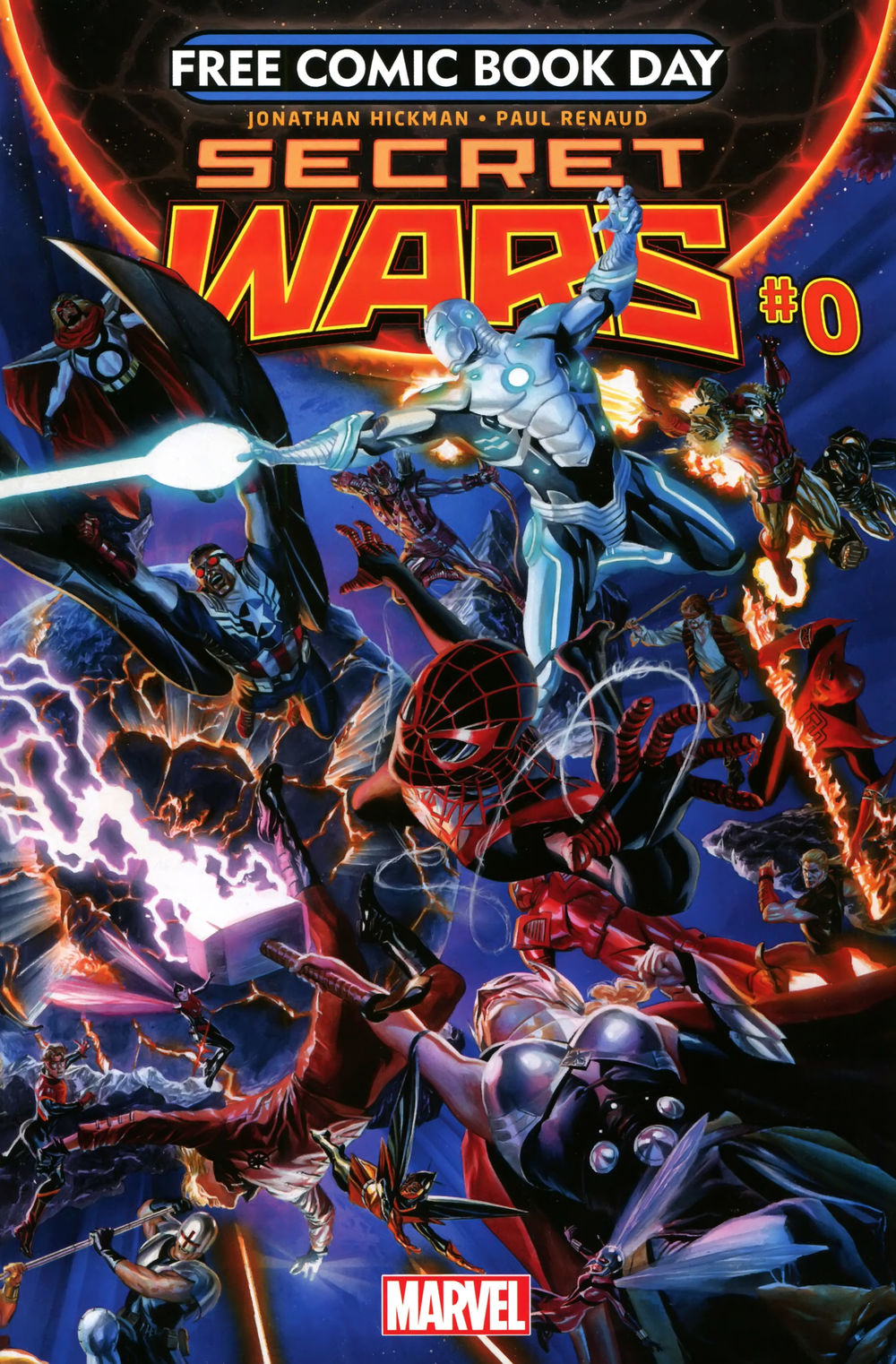 Free Comic Book Day 2015 Secret Wars issue 0.00