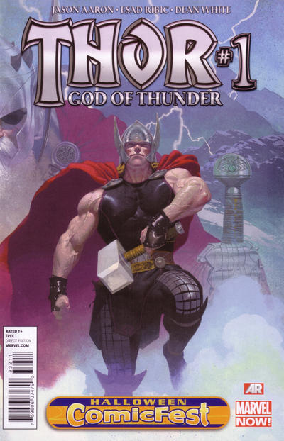 Thor: God of Thunder 1 Halloween Comic Fest 2013 issue 1.00