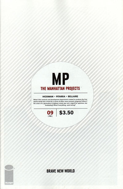 The Manhattan Projects issue 9.00