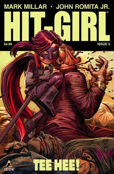 Hit-Girl issue 5.00