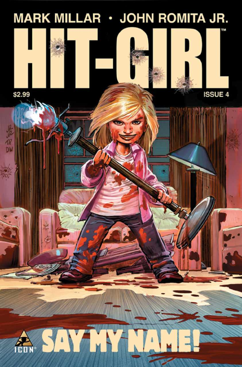 Hit-Girl issue 4.00