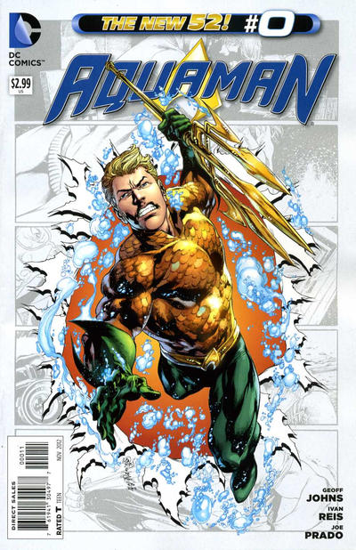 Aquaman issue 0.00