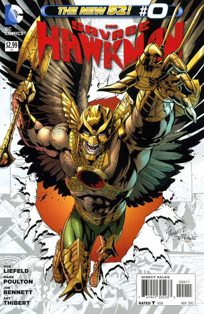 The Savage Hawkman issue 0.00