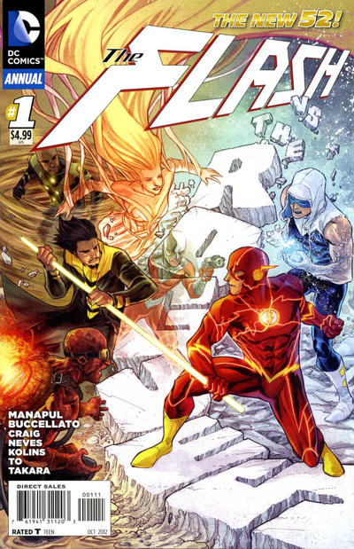 Flash Annual issue 1.00