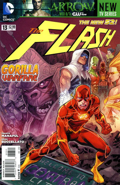 The Flash issue 13.00