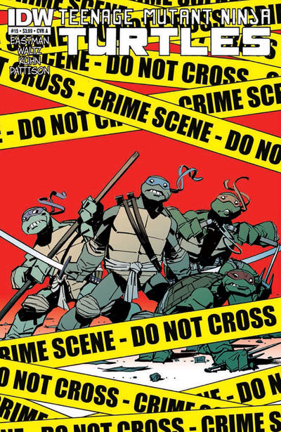 Teenage Mutant Ninja Turtles issue 15.00