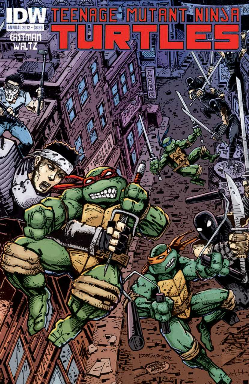 Teenage Mutant Ninja Turtles Annual 2012 issue 1.00