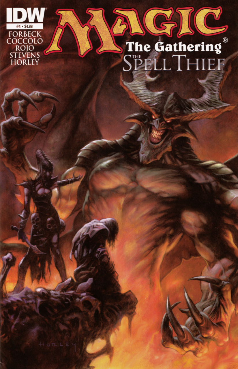 Magic: The Gathering - The Spell Thief issue 4.00