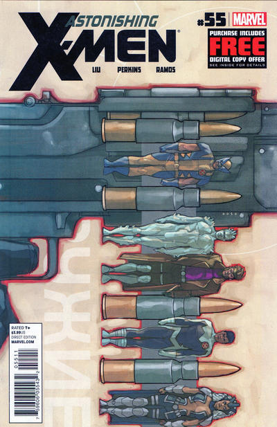 Astonishing X-Men issue 55.00