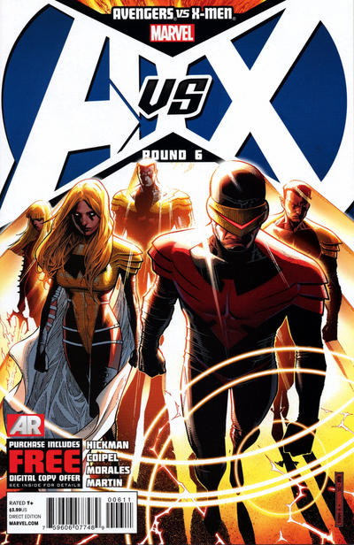 Avengers Vs. X-Men issue 6.00