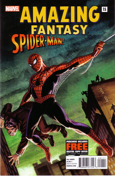Amazing Fantasy #15: Spider-Man! issue 15.00