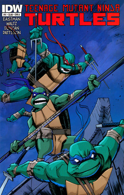 Teenage Mutant Ninja Turtles issue 11.00