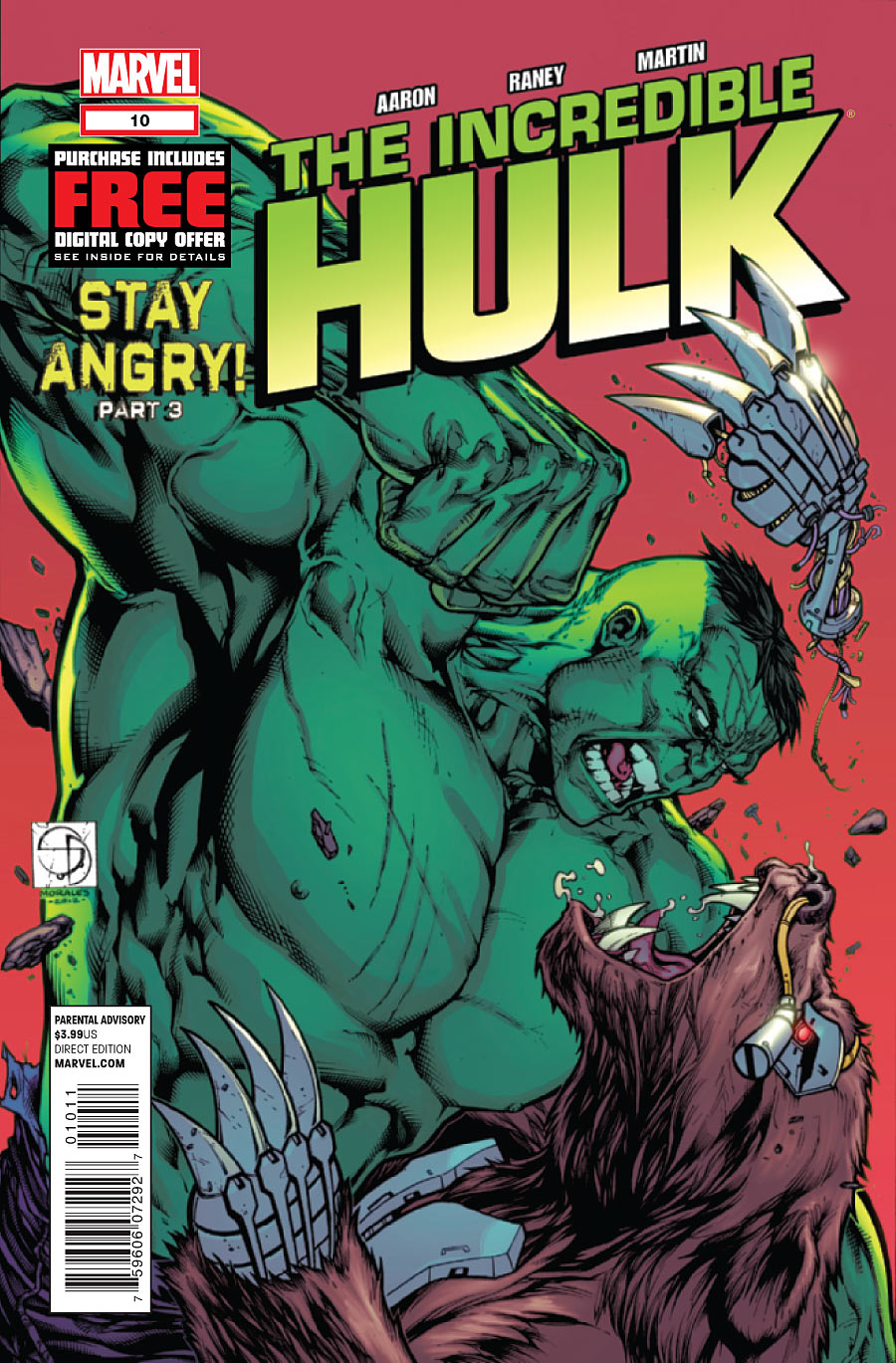 Incredible Hulk, The issue 10.00