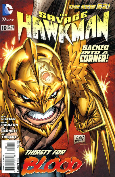 The Savage Hawkman issue 10.00