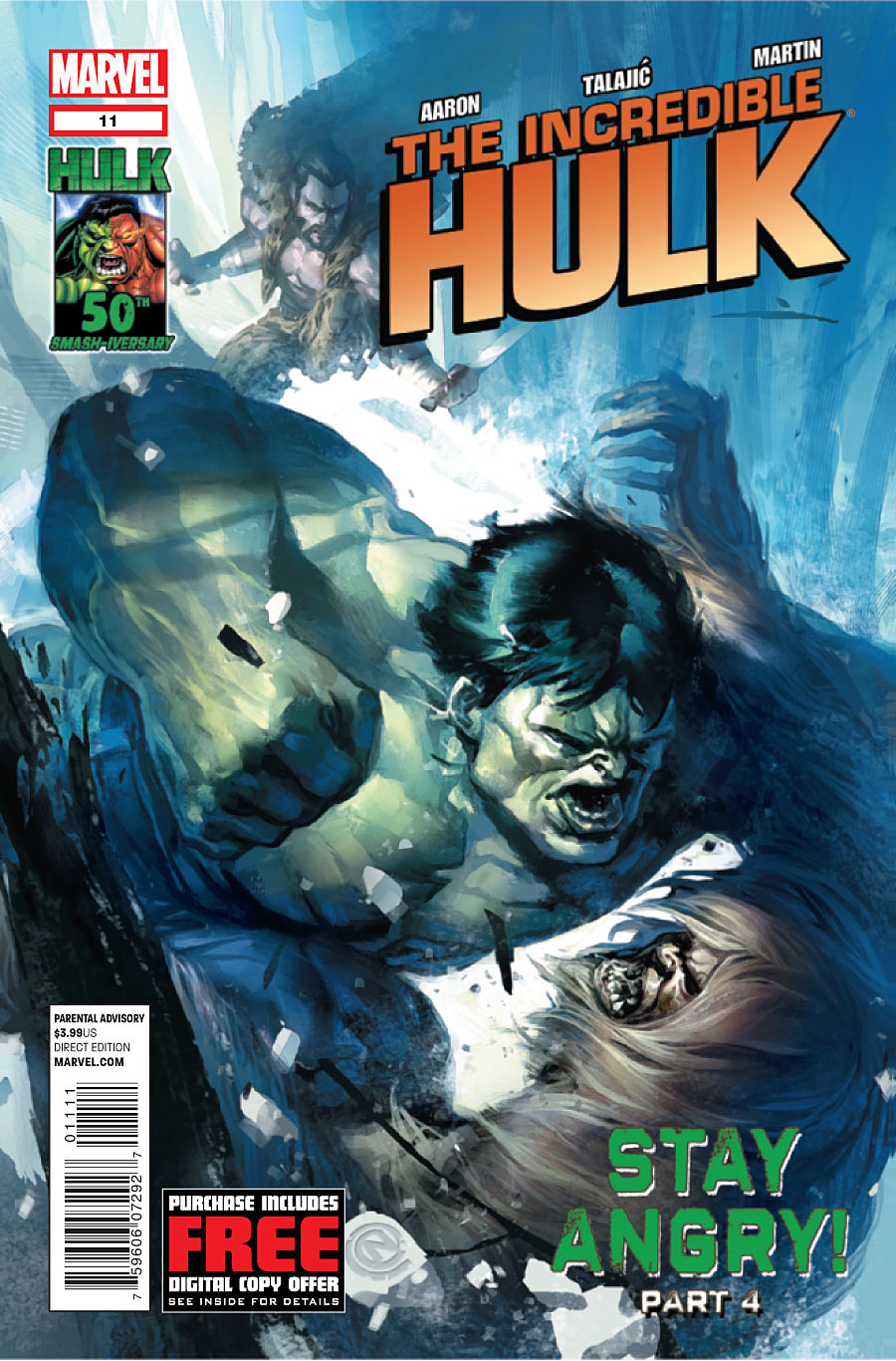 Incredible Hulk, The issue 11.00